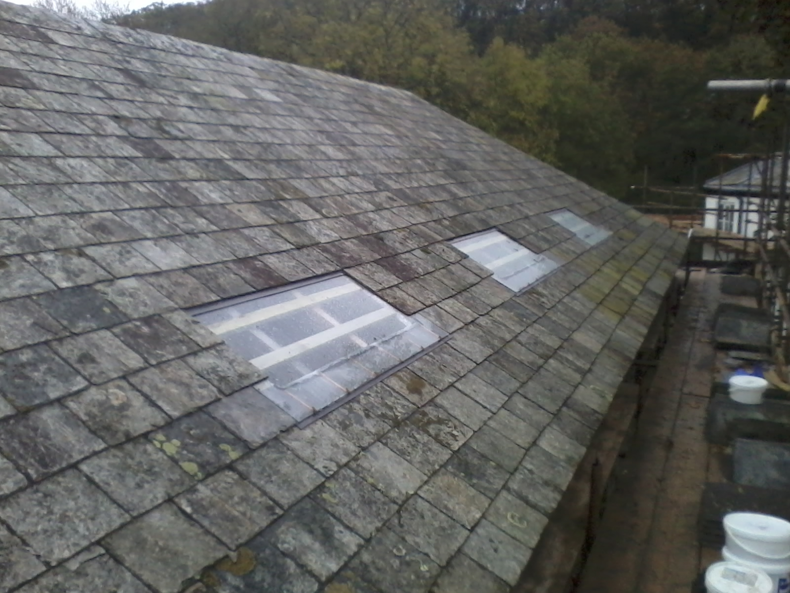 Find Below A Re Roofing Project We Undertook In Ide Near Exeter. This  Project Compromised Of Striping Off The Existing Defective Roof Covering .