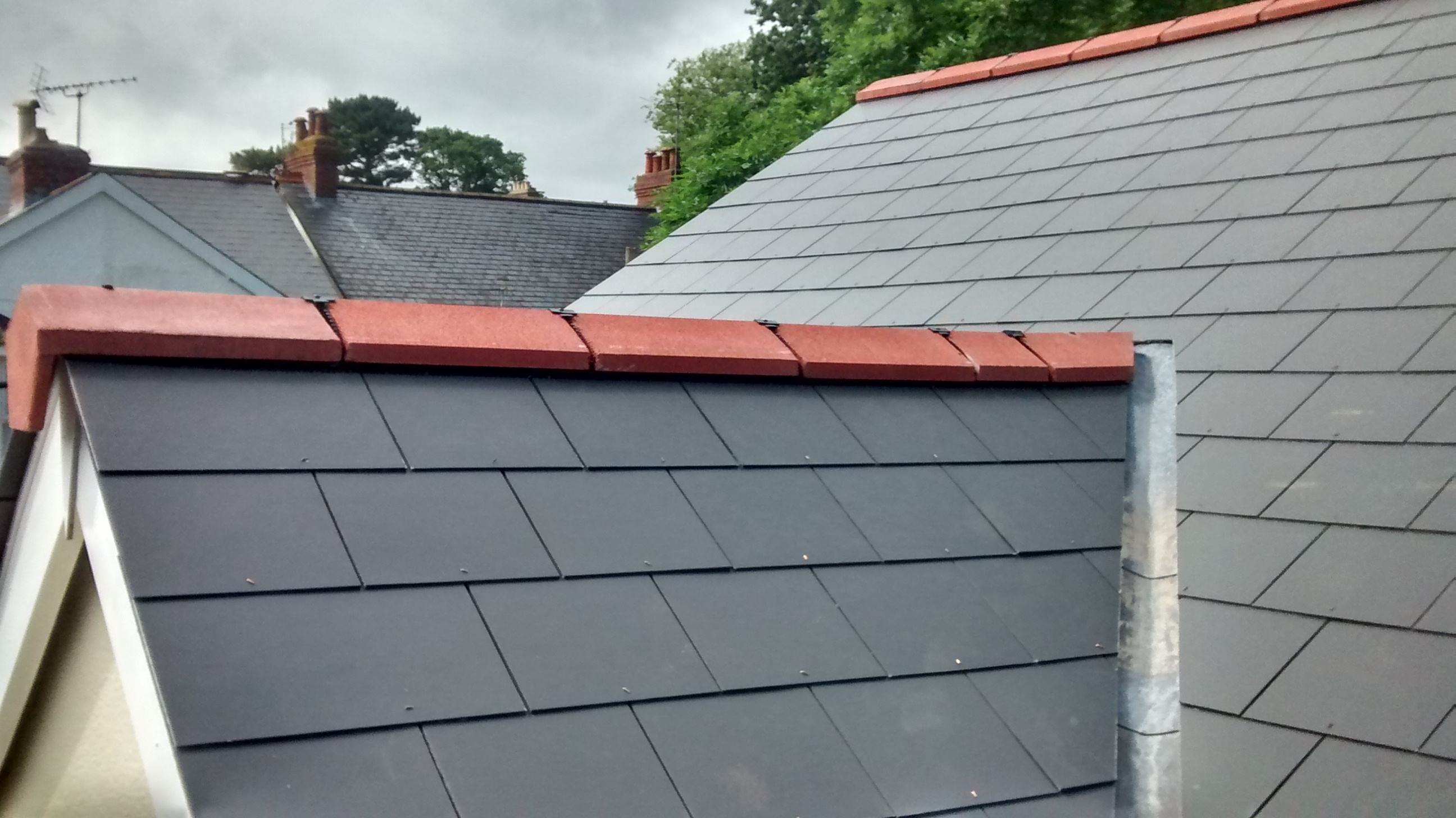 Slate Roof Verges Photographs Sc 1 St